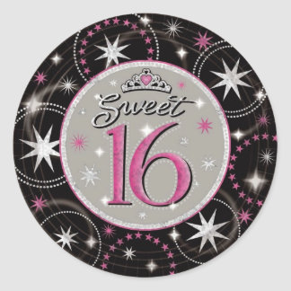 Sweet 16 Sticker