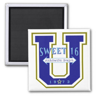 Sweet 16 University Athletic Department Magnet