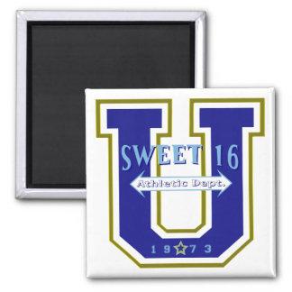 Sweet 16 University Athletic Department Magnet