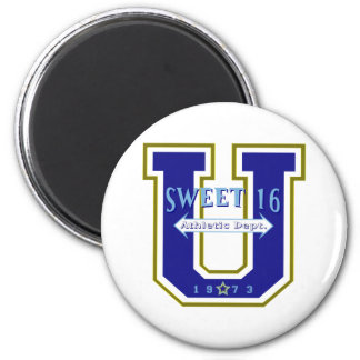 Sweet 16 University Athletic Department Magnets