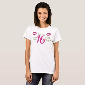 Sweet 16 V.2 Typography T-Shirt