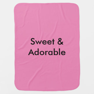 Sweet & Adorable Receiving Blanket