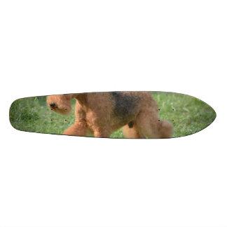 Sweet Airdale Terrier Skate Boards