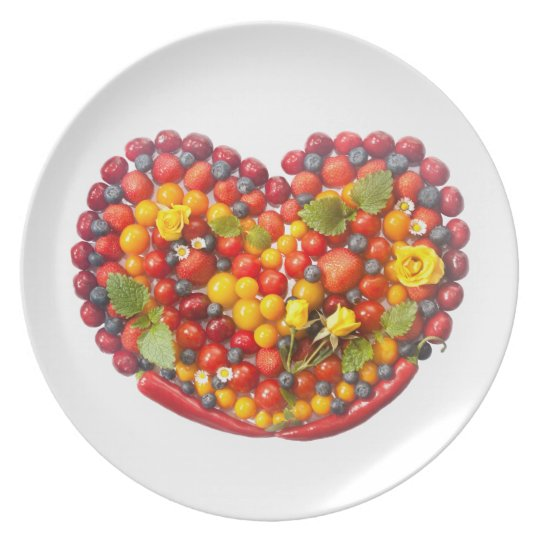 Sweet and Chilli Heart Plate