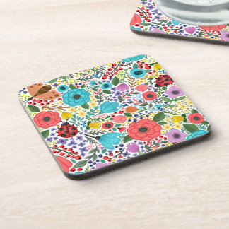 Sweet and Colorful  Floral Ditsy | Coaster
