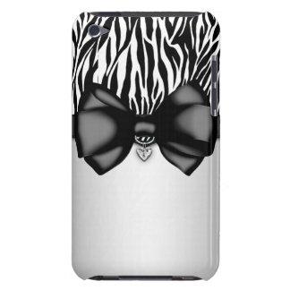Sweet and Sassy Bowed Zebra Print Case