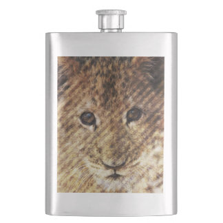 sweet and wild hip flask