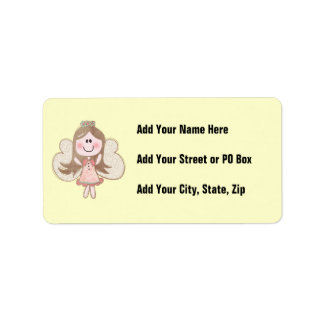 Sweet Angel Address Label