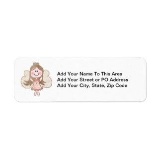 Sweet Angel Return Address Label