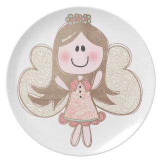 Sweet Angel Dinner Plates