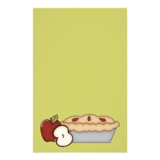Sweet Apple Pie Stationery