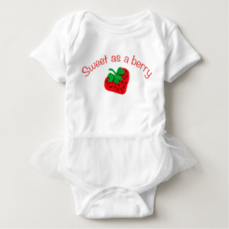 Sweet as a berry baby bodysuit