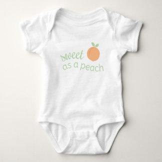 Sweet as a Peach Baby Shirt