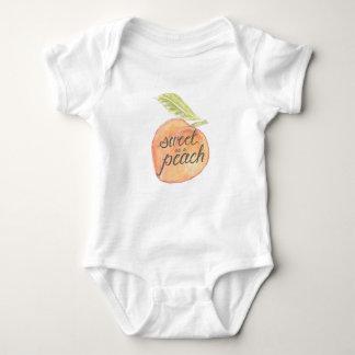 Sweet as a Peach Onsie Baby Bodysuit