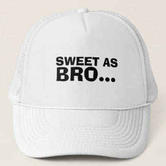SWEET AS BRO NEW ZEALAND SLANG TRUCKER HAT