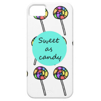 """""""Sweet as candy"""" iPhone 5/5s case"""
