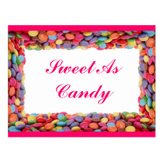 Sweet As Candy Postcard