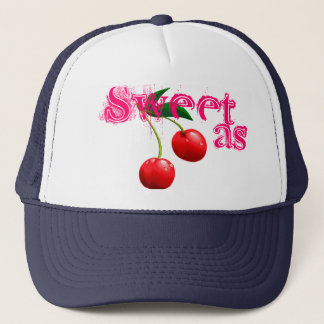 Sweet As Cherry Trucker Hat