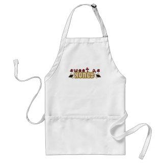sweet as honey adult apron
