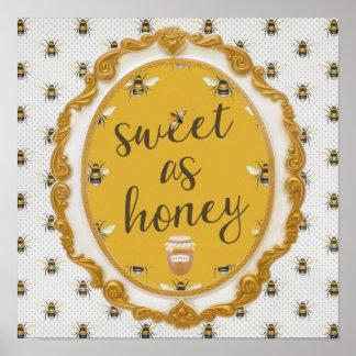 Sweet As Honey Poster