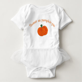 Sweet as pumpkin pie baby bodysuit