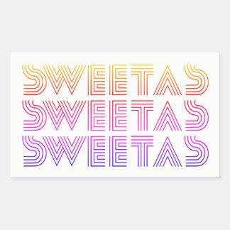 """Sweet As"" Rainbow Sticker"
