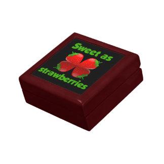 Sweet as Strawberries gift box