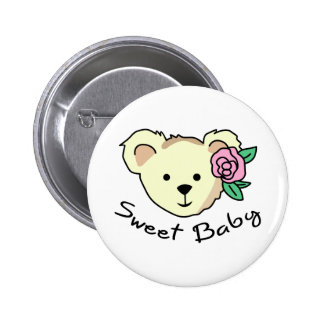 SWEET BABY PINBACK BUTTONS