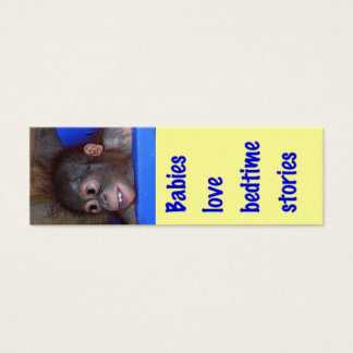 Sweet Baby Bedtime Story bookmark Mini Business Card