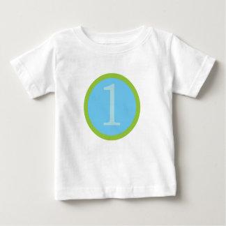 Sweet Baby Boy First Birthday Tshirt