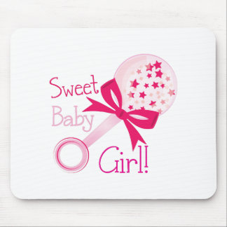 Sweet Baby Girl Mouse Pad