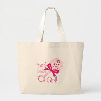 Sweet Baby Girl Jumbo Tote Bag