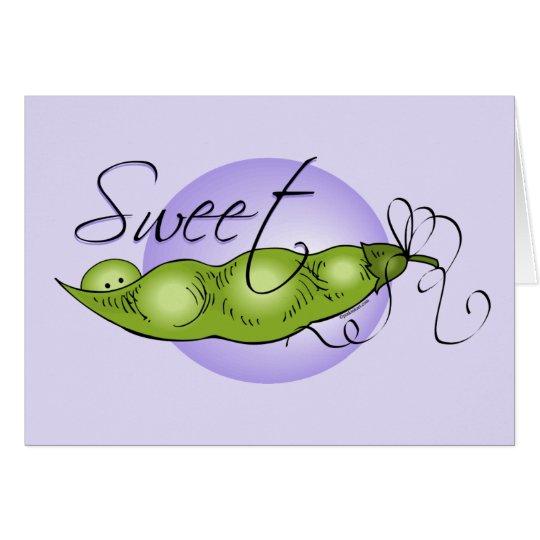 Sweet Baby Pea Card