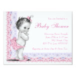 Sweet Baby Pink and Purple Baby Shower