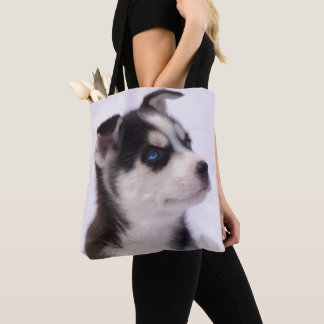 Sweet Baby Puppy Tote Bag