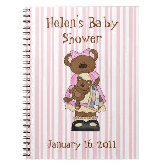 Sweet Baby Shower Notebook