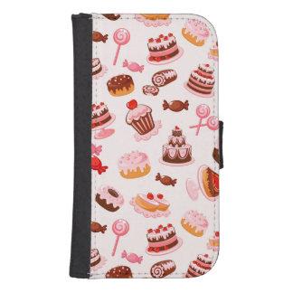 Sweet background samsung s4 wallet case