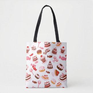Sweet background tote bag
