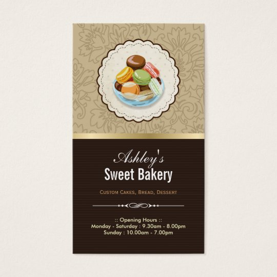 Sweet Bakery Boutique - French Parisian Macaroons Business