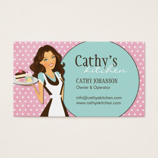 Sweet Bakery Business Card