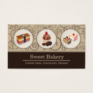 Sweet Bakery Store Custom Cakes Chocolates Dessert