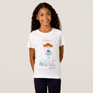 Sweet Ballerina Big Sister Again T-Shirt