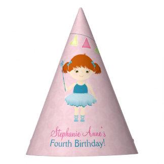 Sweet Ballerina Cupcake Party Hat