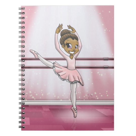 """Sweet Ballerina"" Notebook"