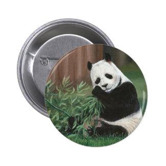 Sweet Bamboo Panda Bear button