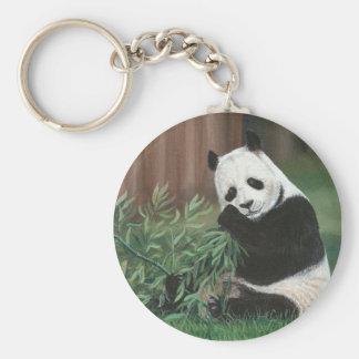 Sweet Bamboo Panda Bear keychain