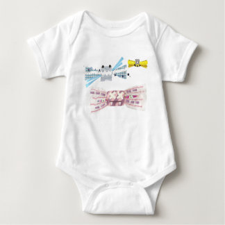 Sweet Bat No Background Babygro Baby Bodysuit