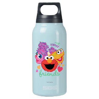 Sweet Best Friends Characters Insulated Water Bottle