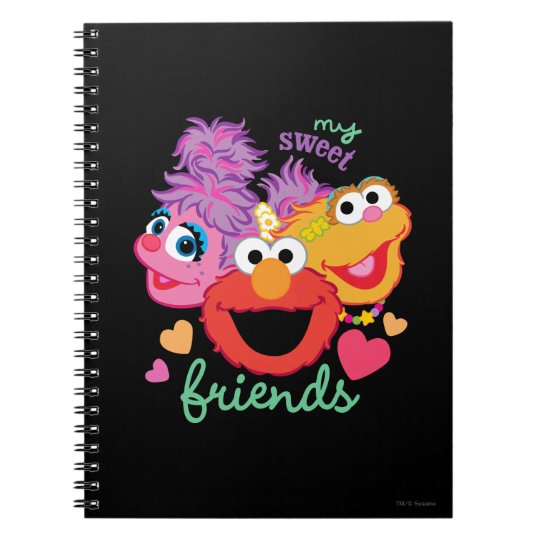 Sweet Best Friends Characters Notebooks