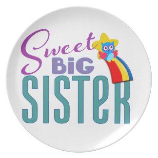 Sweet Big Sister Plate